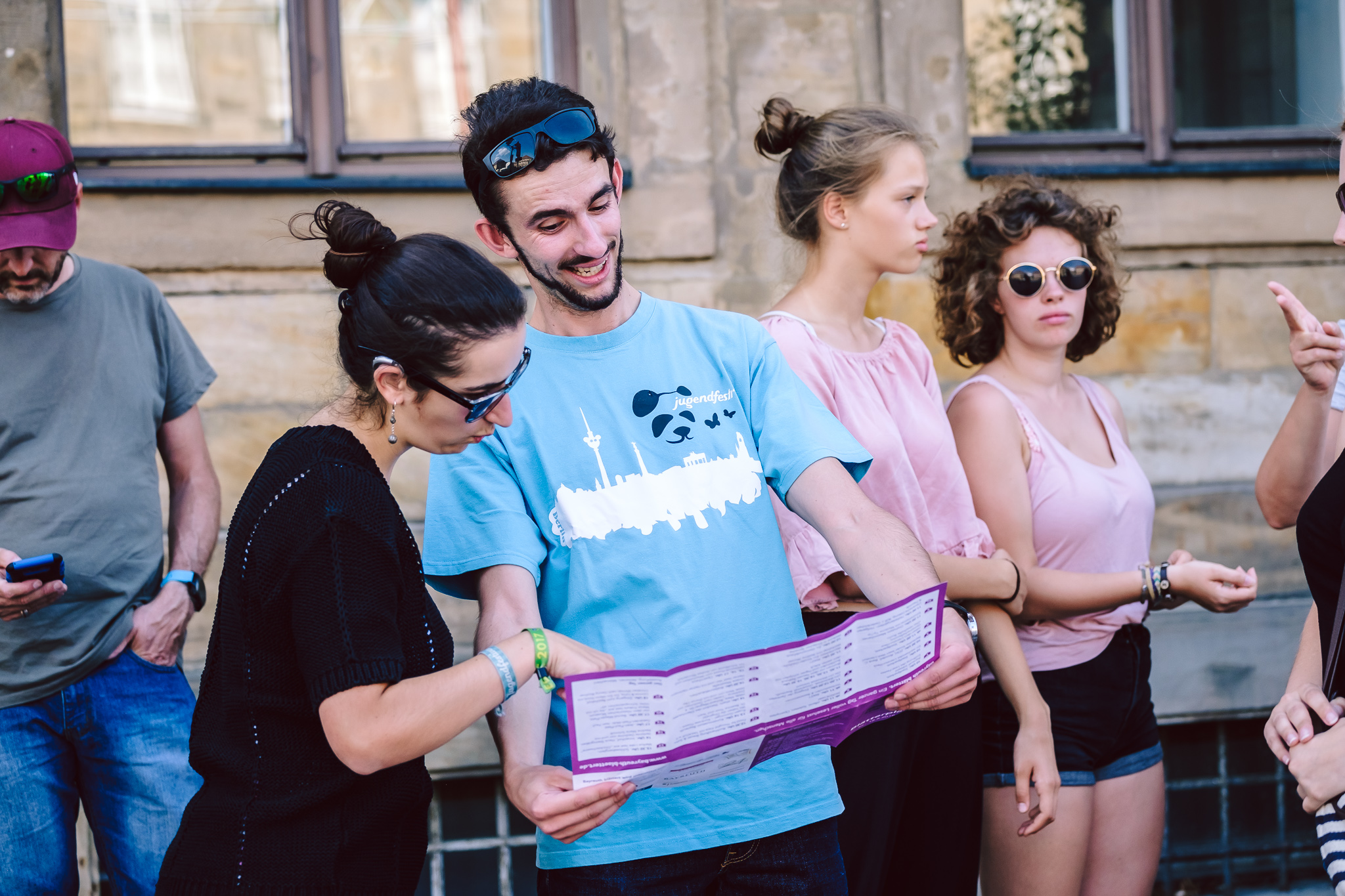 Bayreuth blättert ist ein Lesefest für alle Menschen! Es findet am Samstag, den 18. August 2018 in Bayreuth statt.  ++ am 18.08.2018 in Bayreuth (Bayern).  (c) Andi Weiland   Bayreuth blättert