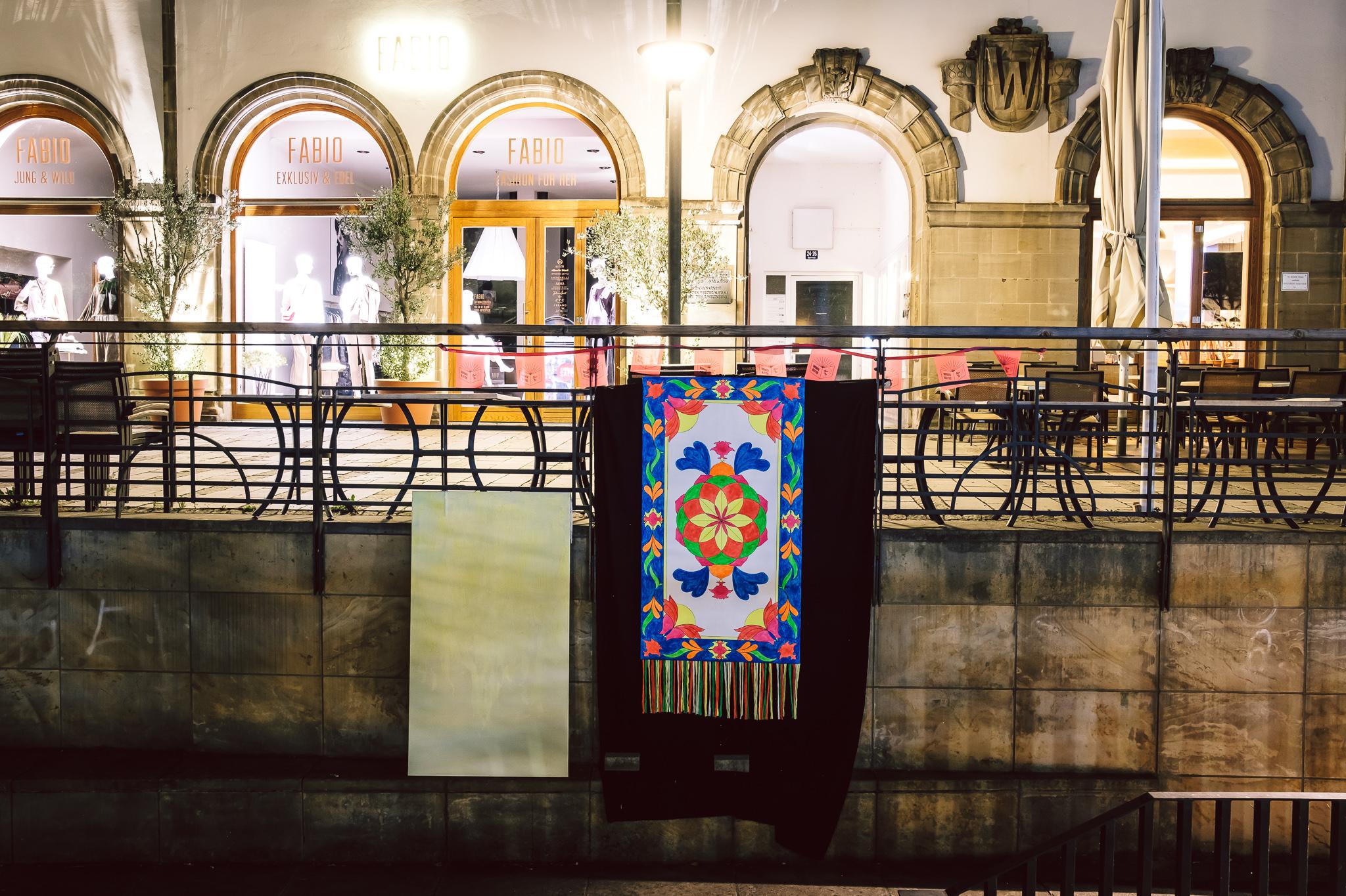 Bayreuth blättert ist ein Lesefest für alle Menschen! Es findet am Samstag, den 18. August 2018 in Bayreuth statt.  ++ am 19.08.2018 in Bayreuth (Bayern).  (c) Andi Weiland   Bayreuth blättert