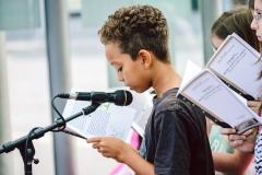 Bayreuth blättert ist ein Lesefest für alle Menschen! Es findet am Samstag, den 18. August 2018 in Bayreuth statt.  ++ am 18.08.2018 in Bayreuth (Bayern).  (c) Andi Weiland | Bayreuth blättert