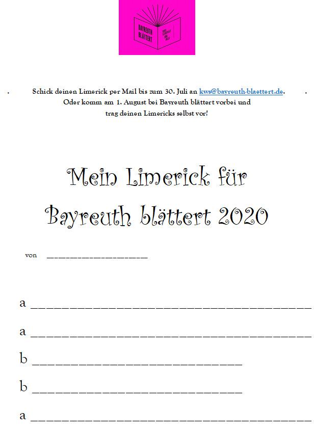 A-A-B-B-A: Limericks
