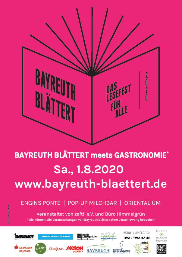 Endlich: Das Programm für Bayreuth blättert 2020 steht fest!
